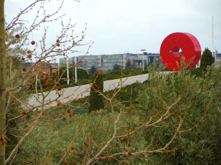 escultura espacio mejico de andres casillas y margarita garcia cornejo
