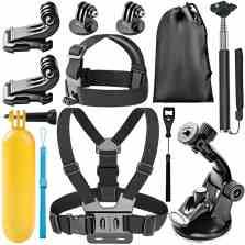 kit de accesorios para camaras deportivas
