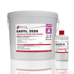 EASYL 3520 Base + Curing agent silicona de estaño para moldes