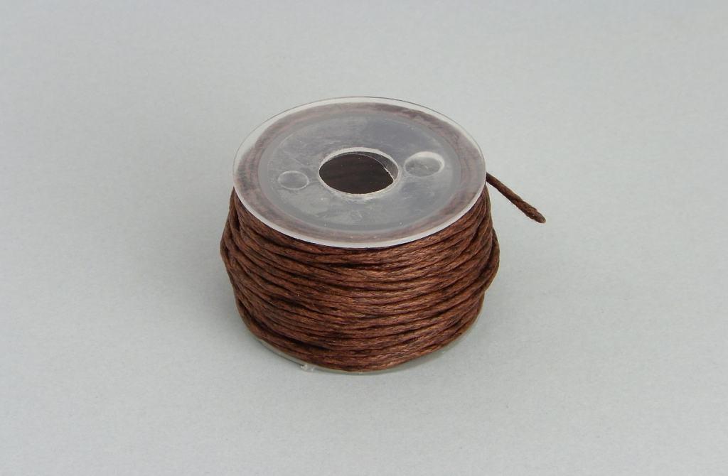 cordon de 1 mm de grosor pra hacer collar de bisuteria de hueso