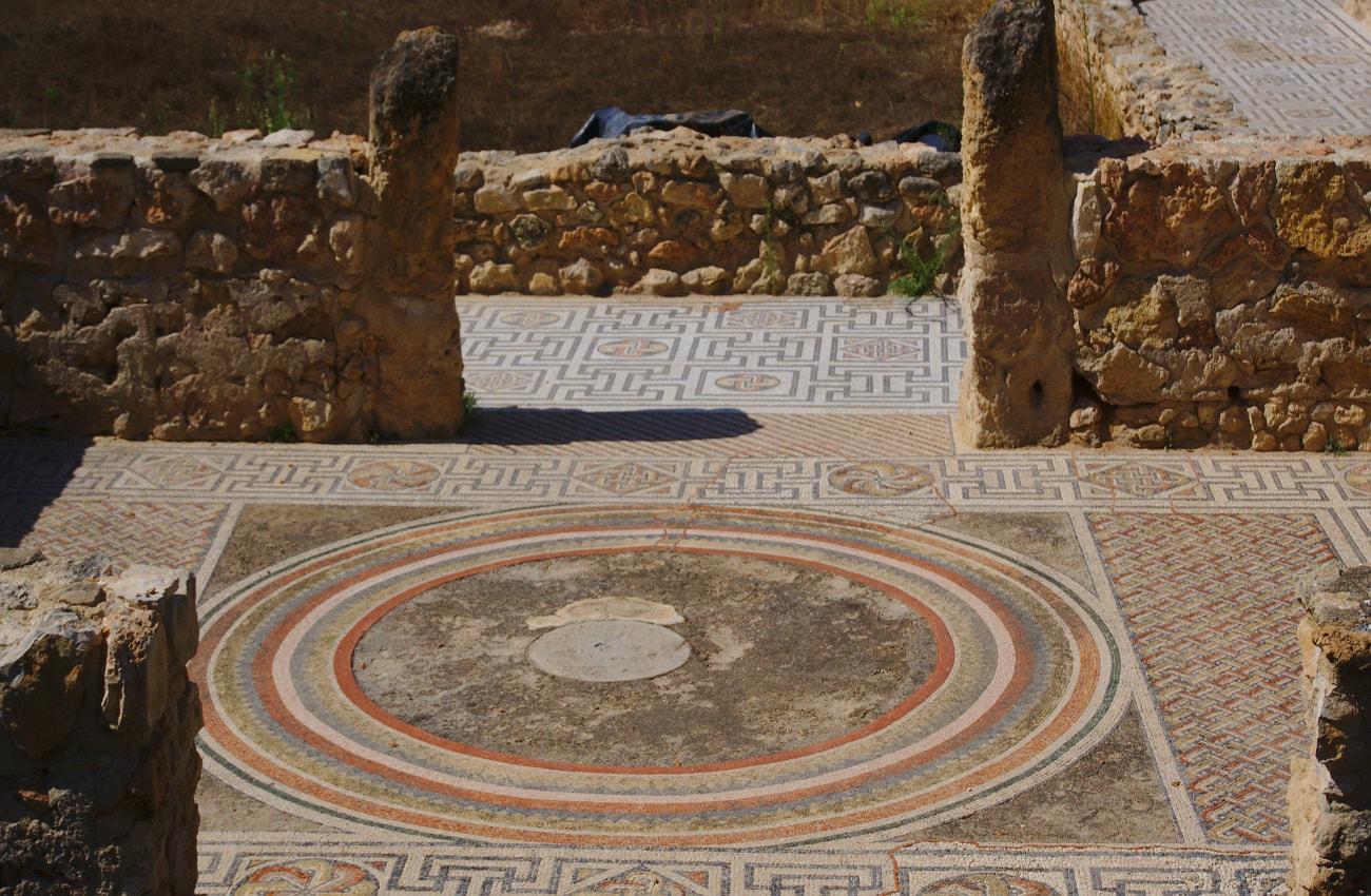 yacimiento arqueologico de casa romana en santa pola