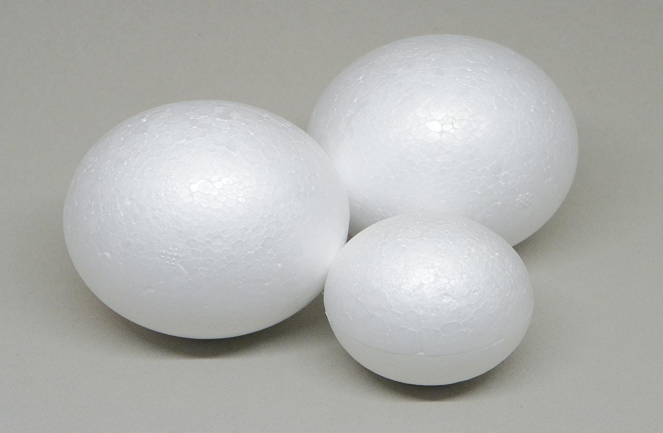 bolas de poliestireno de 50 y 70 mm