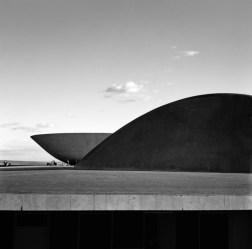 Palácio Congresso Nacional. Brasilia. Foto Marcel Gautherot 1960 /IMS