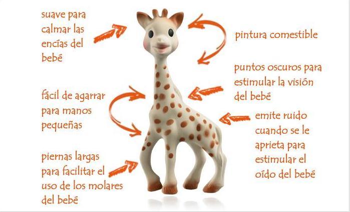 Sophie la jirafa la mejor amiga de tu beb  Chupetes Personalizados  El blog de Tutete