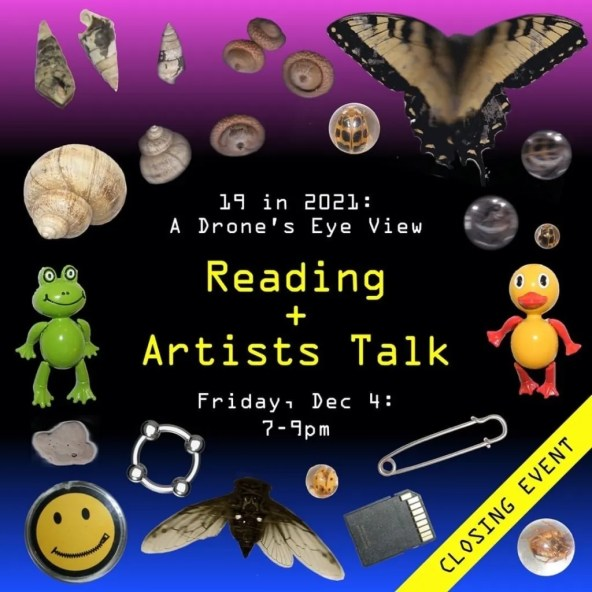 Reading and Artists Talk Flyer