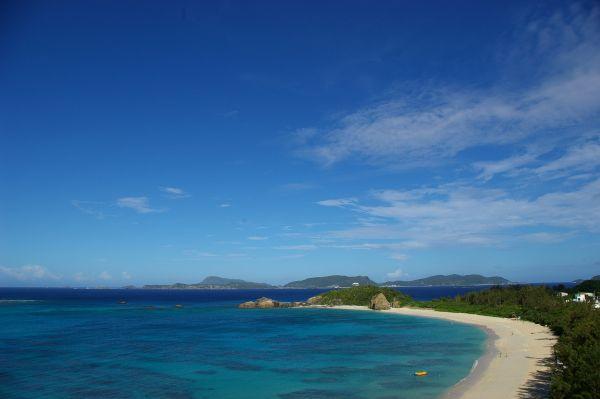 8月の渡嘉敷島