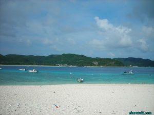 無人島ビーチ