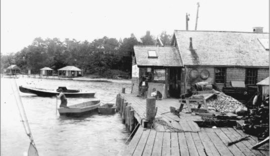 Piers, landings, and oyster grants: the story of Cotuit's Town Dock