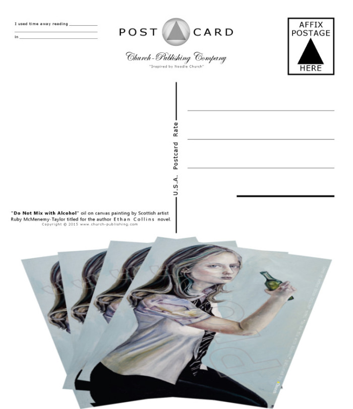 Postcards front and back