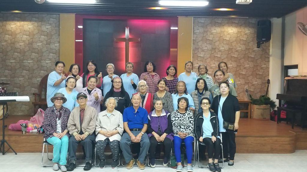 烏來教會松年團契