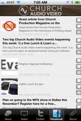 Church Audio Video iPhone App Screenshot 3