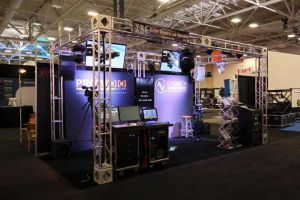 Church Audio Video/ProAudio.com Booth at WFX 2011