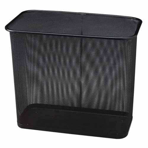 Rubbermaid Chairs Mesh Rectangle Wastebasket Rcpwmb30rbk Churchchairs4less