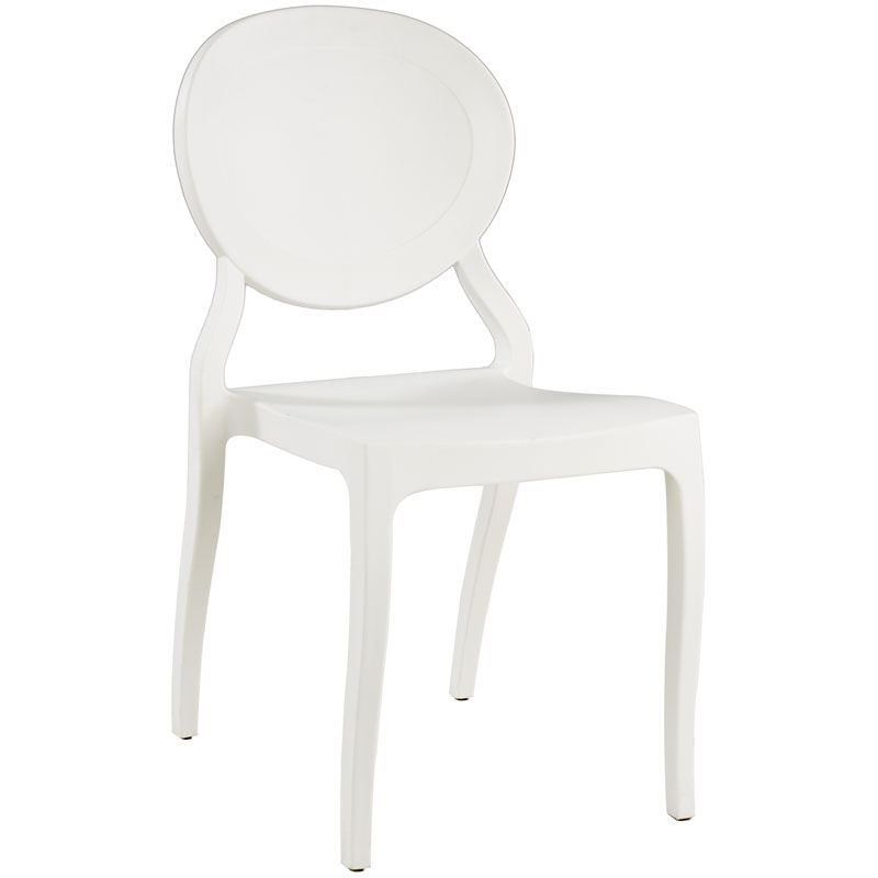 White Stackable Chairs White Resin Stacking Chair Rpp Emma Wh Churchchairs4less