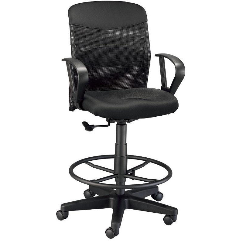 Adjustable Drafting Chair Black Drafting Chair Dc724 40 Churchchairs4less