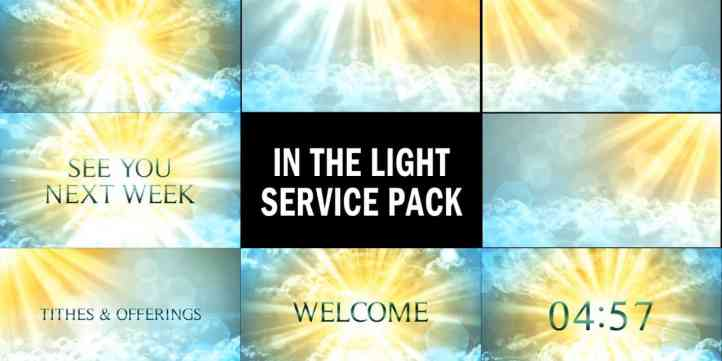In The Light Service Pack Preview