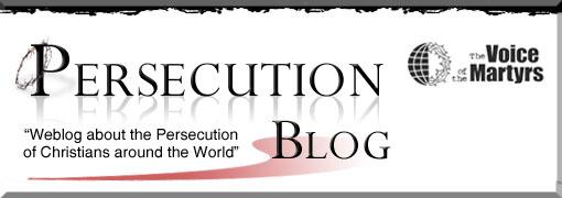 Persecution Blog header