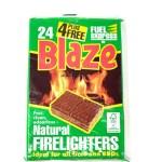 Blaze 24 Natural Firelighters