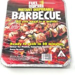 Fuel Express Instant Disposable Barbecue bbq