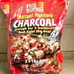 Fuel Express Instant Lighting Charcoal 2 x 1kg Bags bbq