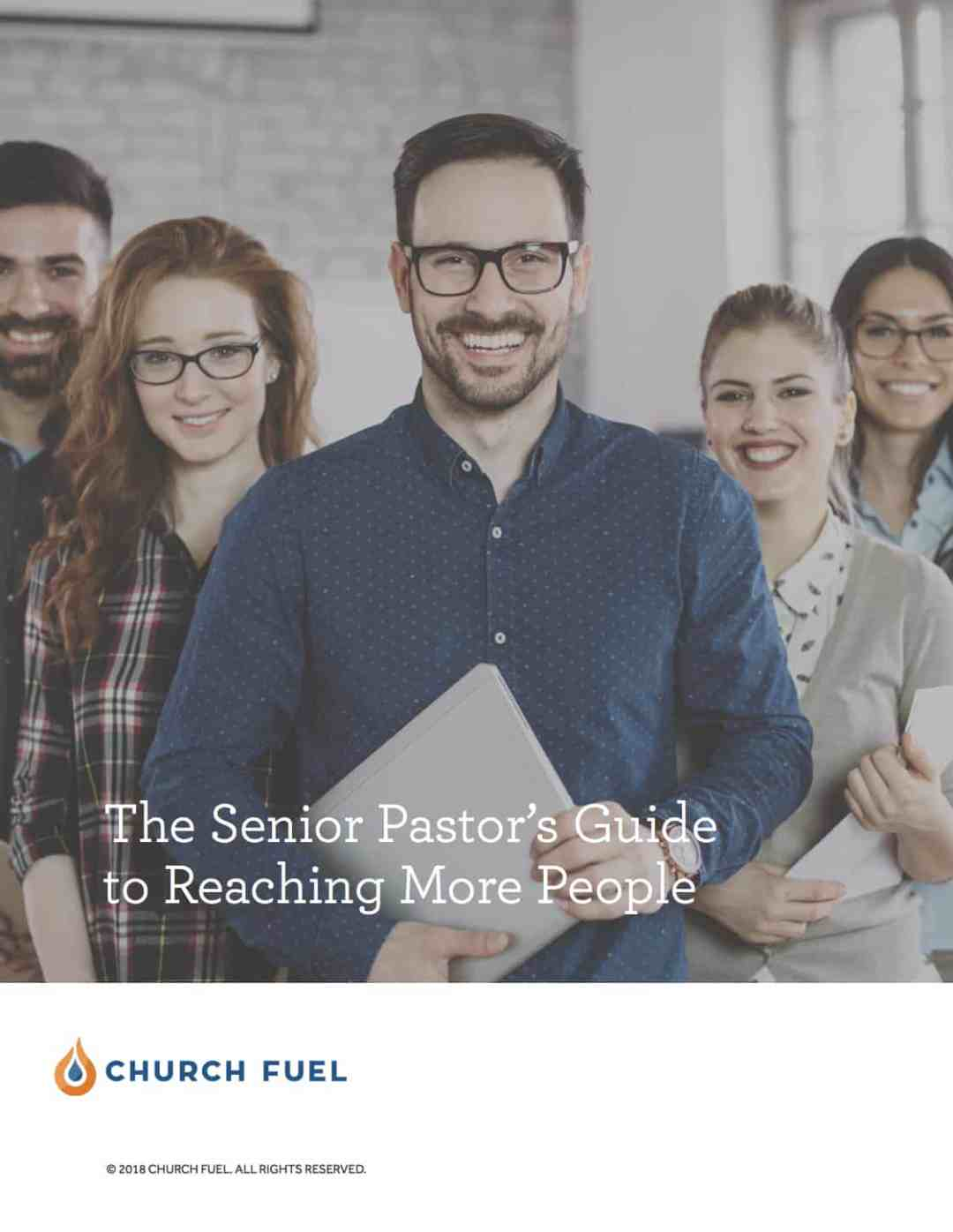 senior pastor's guide to reaching more people