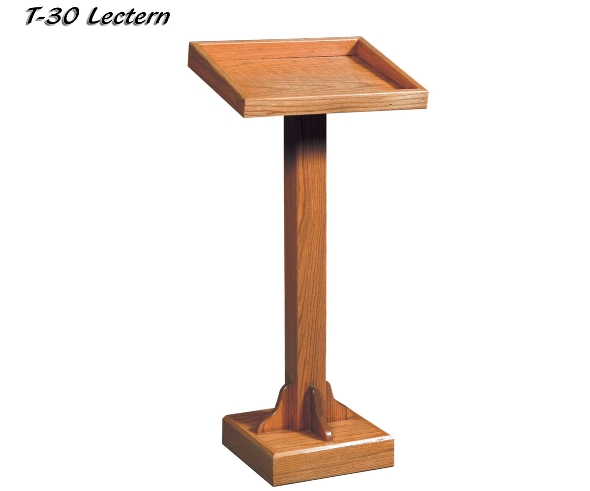 cheap church chairs bungee cord office chair value priced wood lectern t 30 from imperial