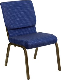 Navy Blue Patterned Chair from Hercules Church Chairs ...