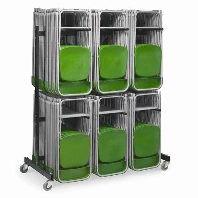 VCT72 TwoTier Folding Chair Storage Caddy  349 Each