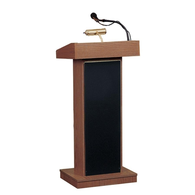 outdoor wire chairs ergonomic chair uplift oklahoma sound's 800x orator floor lectern with built-in sound! | church furniture partner