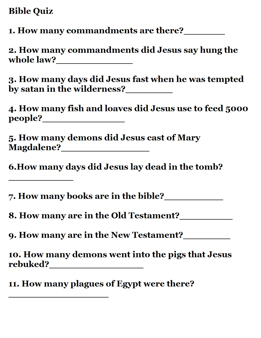 photograph regarding Printable Bible Quiz named Very simple Bible Trivia For Little ones - Impressive Property Inner Style