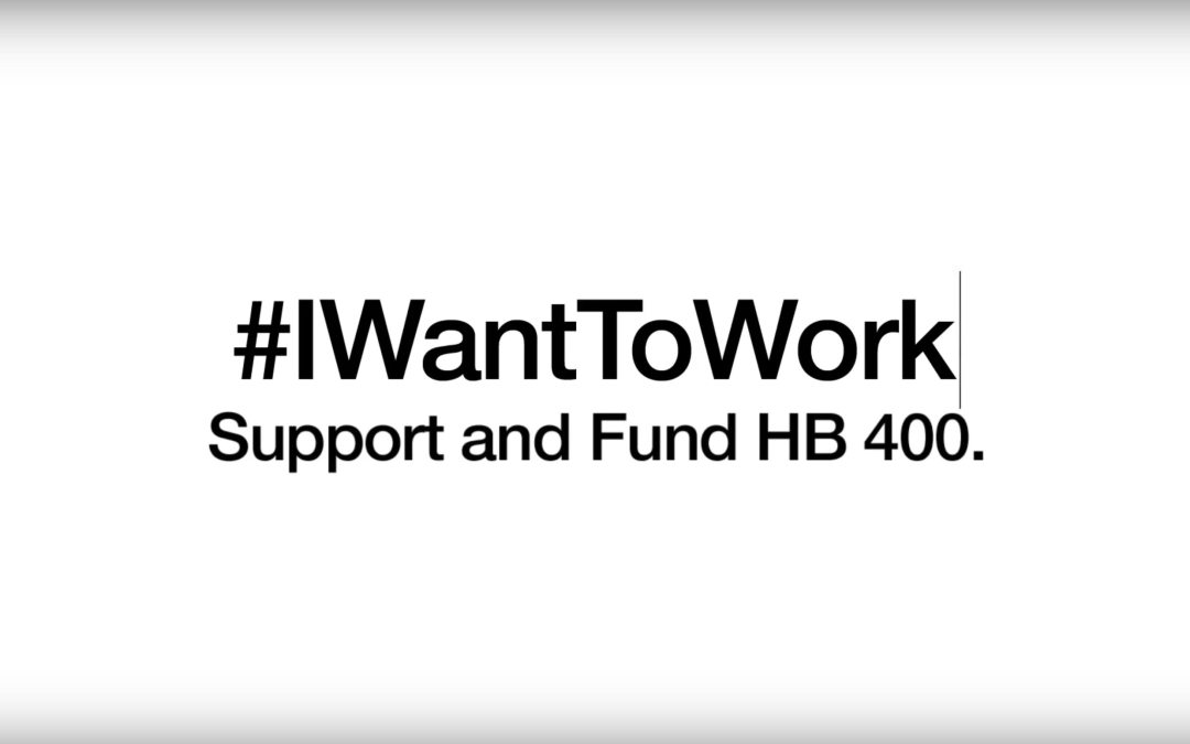 The #IWantToWork Campaign