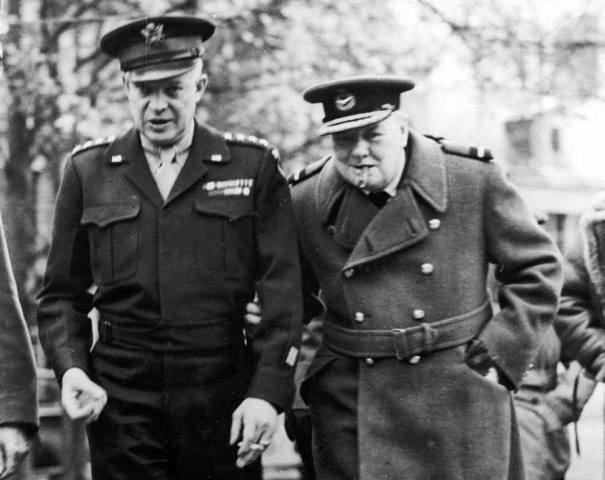 Churchill & Eisenhower