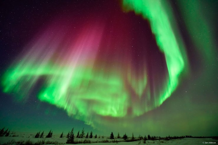 The northern lights at Nanuk can provide some memorable and mesmerizing moments. Ian Johnson photo.