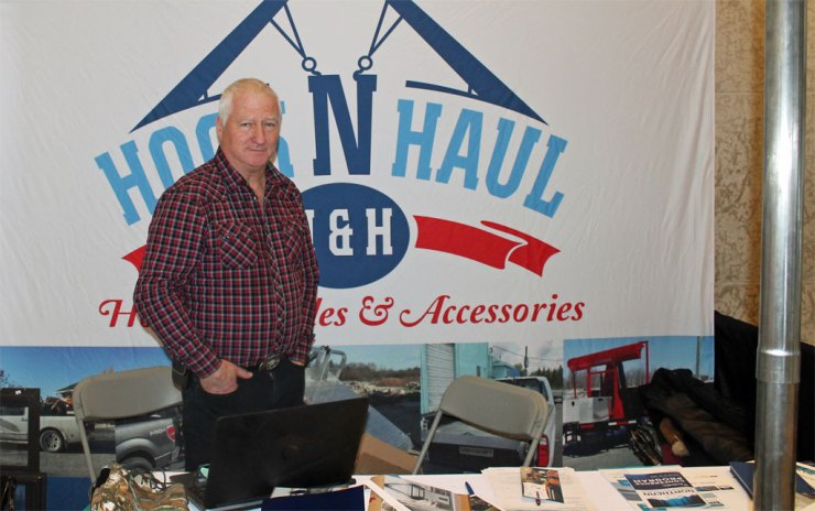 Phil Spring, President, Hook N Haul.