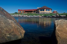 Summertime at Seal River Heritage Lodge.