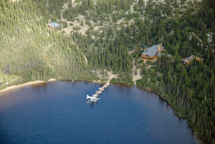 North Knife Lake Lodge. Manitoba's first 5-Star catch-and-release fishing lodge.