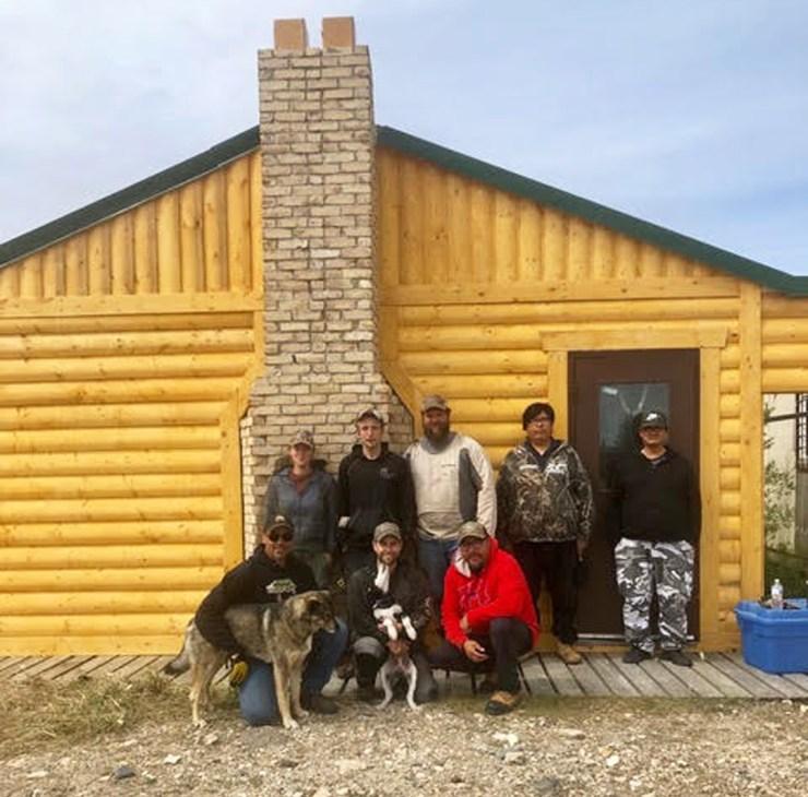 Work crew at Camp Nanuq