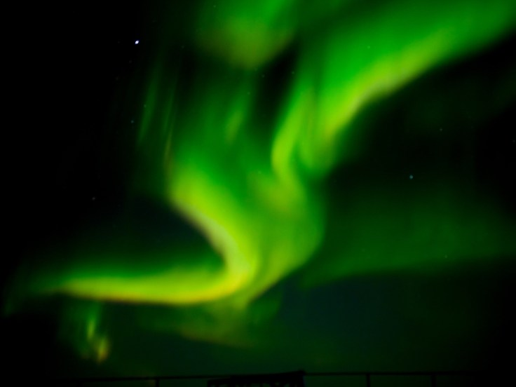 Northern lights at Seal River Heritage Lodge during the Journey to the Floe Edge safari