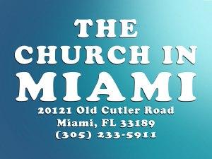 The church In Miami info.