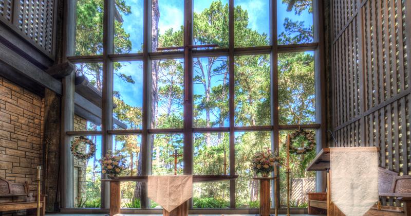 Chapel Windows from inside