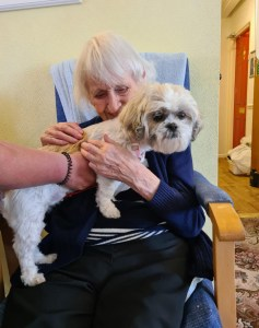 Lola at Elizabeth House and Moorfields Care Home in Bury