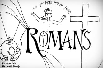 Free Printable: Romans Coloring Page