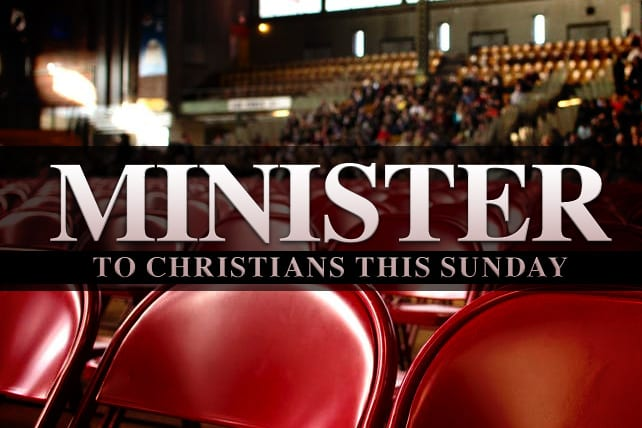 5 Ways to Minister to Other Christians This Sunday
