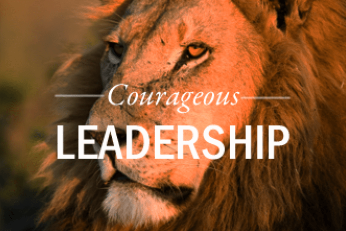 Image result for COURAGEOUS LEADER
