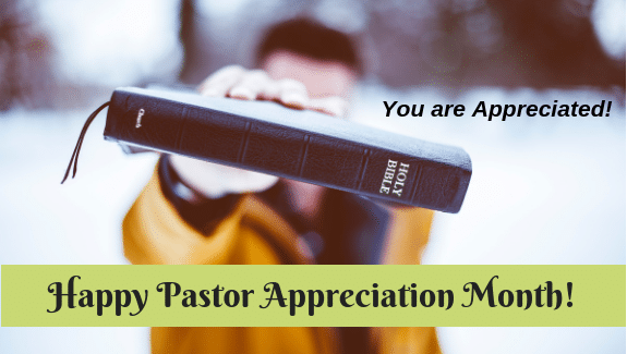 Church Letters for Pastors Appreciation