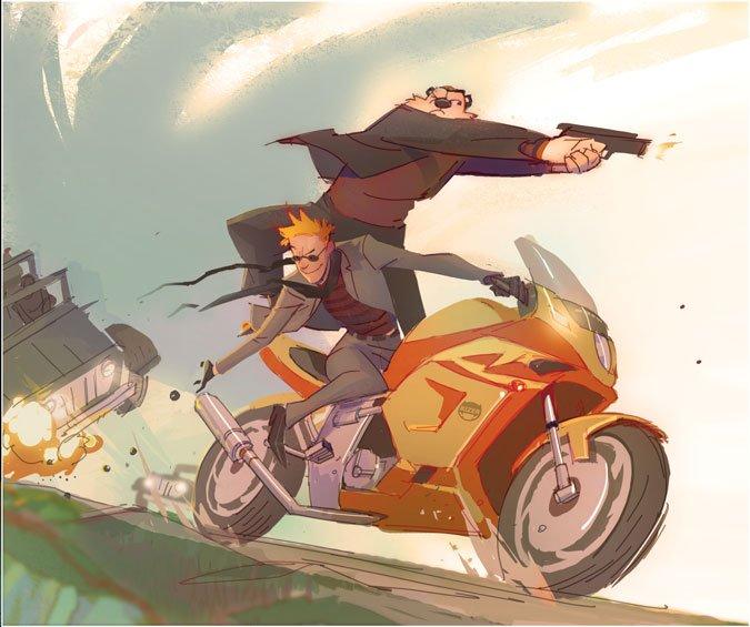 If Calvin & Hobbes Grew Up