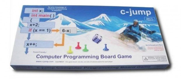 c-jump computer programmers board game