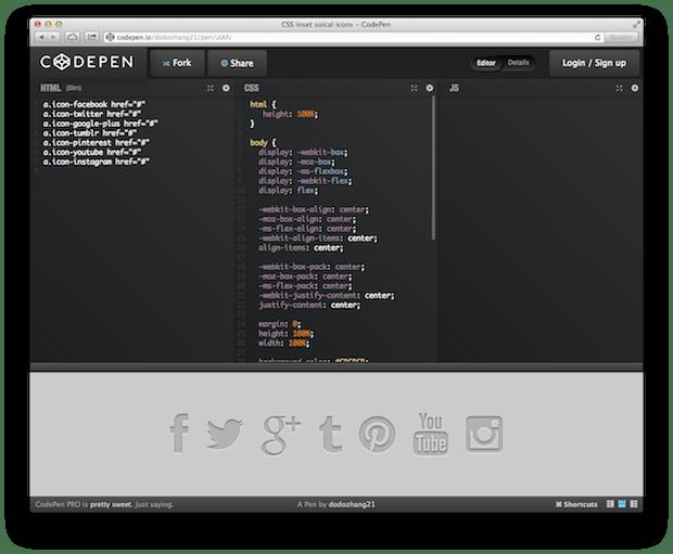 CodePen Example