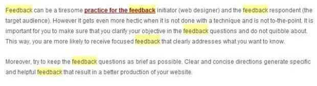 feedback-screen