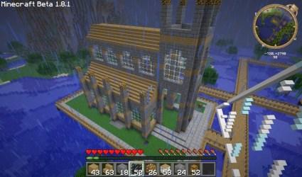 minecraft church build tutorials ag awesome building tutorial churchm